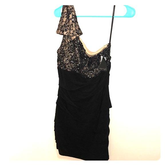 Unknown Dresses Semi Formal Black Dress Poshmark